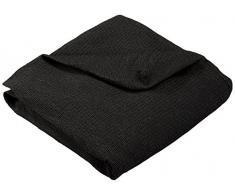 Martina Home Stretch Husse für Sofa 2-Sitzer Modell Tunez, Farbe Schwarz, Maße 120 bis 190 cm