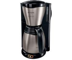 Philips 162058 HD 7548/20 Gaia Therm Kaffeemaschine, 1000 W, scharz Edelstahl