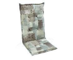 BEST Sesselauflage nieder STS, bunt, 100 x 50 x 7 cm, 4101741