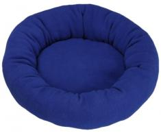 Hundekissen Fiona Fleece Donut, blau, 40cm