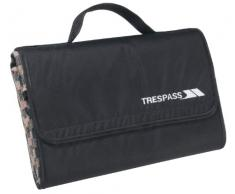 Trespass Throw, Tropical Stripe, Wasserdichte, Kompakt Zusammenfaltbare Picknickdecke 135cm x 120cm, Blau