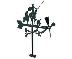 Arthifor Gartenlaterne Quijote, schwarz matt