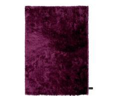 Benuta Shaggy Hochflor Teppich Whisper Lila 80x150 cm | Langflor Teppich für Schlafzimmer und Wohnzimmer