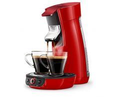 Philips HD6564/81 Kaffeemaschine, Scintillant Rot