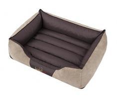 HobbyDog XXL NICBEZ2 Hundebett Nice Größe - 110 X 90 cm Beige Bett Betten Hundematte Matte Matratze, XXL, Beige, 5.8 kg