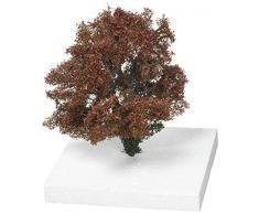 Silhouettes späten Herbst Buche Overgrown mit Ivy Größe 2, Licht Rot