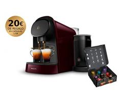 Philips LOR Barista LM8014/80 Kaffeemaschine für Einzel-/Doppel-Kapseln, 19 bar, 1 l, Schwarz