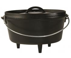 Lodge 25,4 cm/4,7 Liter/5 Quart Hänge Gusseisen Outdoor/Camp Tief Dutch Oven