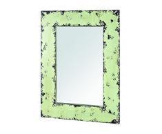 HAKU Möbel 27988 Wandspiegel, 2 x 50 x 70 cm, vintage