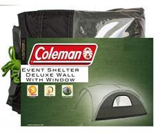 Seitenwand für Coleman Event Shelter Deluxe, 1 Pavillon Seitenteil mit Fenster, Seitenplane, dient auch als Sonnenschutz, Wasserabweisend, Grün