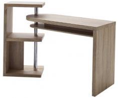 Robas Lund Schreibtisch- Kombination Mattis, MDF, eiche sägerau, 50 x 145 x 94 cm