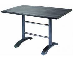 BEST 43541557 Tisch Maestro rechteckig 120 x 80 cm, anthrazit/Tempera