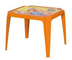 Progarden 942 Kindertisch Tavolo Baby Winnie Pooh, Vollkunststoff, 50 x 55 x 45 cm, orange