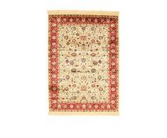 ABC Teppich bizantine 140 x 190 cm Beige/Rot
