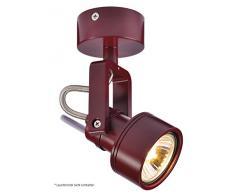SLV LED Strahler INDAÂ dreh- und schwenkbar | Smarte Wand- und Decken-Leuchte zur individuellen Innen-Beleuchtung | Decken-Spot, Deckenfluter, Deckenstrahler, Decken-Lampe, Wand-Lampe | GU10, EEK bis A++