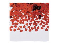 Creative Converting 02015 Valentines Konfetti, Papier, rot