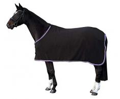 PFIFF Fleecedecke Hennes, schwarz 125cm