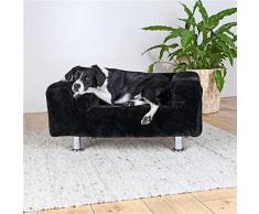 Trixie 37941 Hundekönig Sofa, 78 × 55 cm, schwarz