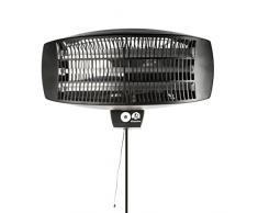 Ultranatura Quarz Heizstrahler PH-2100 - Terrassenstrahler 3-stufige Wärmeeinstellung bis 2100 Watt - Wärmestrahler für Wand -Wandheizstrahler für Indoor und Outdoor