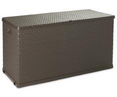 Toomax Kissenbox Multibox Rattan 420, Braun