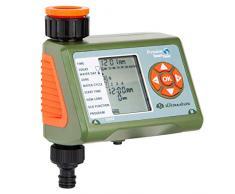 Ultranatura Bewässerungscomputer mit LC-Display, ideal zur Blumenbewässerung, Rasenbewässerung etc, Bewässerungssteuerung mit einem Ausgang und Vier Bewässerungszyklen