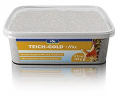 Söll 18811 Teich-Gold Mix - Alleinfuttermittel für alle Teichfische - Fischfutter - Gartenteich, 1er Pack (1 x 330 g)