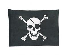 Beistle 50045 Flagge Pirat Party Dekoration, 73,7 cm X 3 10,2 cm schwarz/weiß