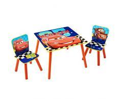Disney Cars - Set aus Tisch und 2 Stühlen für Kinder