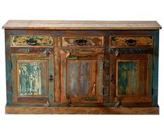 SIT-Möbel 9103-98 Sideboard, 3 Türen, 3 Schubladen, 140 x 40 x 80 cm