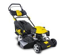 Stanley 604600010 SLM-139-460 Benzin Rasenmäher 2500 W, schwarz/gelb