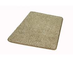 Kleine Wolke Seattle / 55 x 65 cm/Farbe Taupe Badteppich, Polyester, 55x65x3 cm