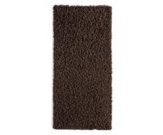 Andiamo 1100184 Teppich Vannes, Hochflorteppich - maschinell gewebt, 60 x 110 cm, braun