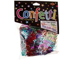 Beistle CN024 Fancy Happy Birthday Konfetti