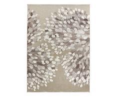 Vallila CM000169-75 Sydänpuu 140 x 200 cm, Teppich, Herzen, grau / weiß