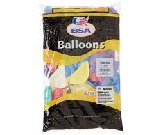 Pioneer Ballon Company Luftballon, Seide, sortiert, 28 cm, mehrfarbig