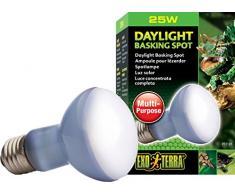 Exo Terra PT2195 Breitspektrum Tageslichtlampe Wärmestrahler Daylight Baski Spot 25W
