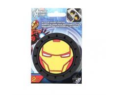 Marvel Iron Man Heavy Duty Gummi Auto Cup Untersetzer 2 Stück