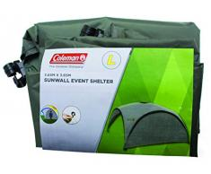 Seitenwand für Coleman Event Shelter L 3,6 x 3,6 m, 1 Pavillon Seitenteil, Seitenplane, dient auch als Sonnenschutz, Wasserabweisend, Grün