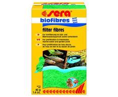 sera 08450 biofibres fein 40 g die Filterfaser zur Vorfilterung im Süß- und Meerwasser sowie Gartenteich