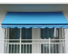 Angerer 2300/9400 Klemmmarkise Dralon Nr. 9400, Blau, 200 cm
