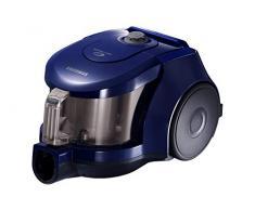 Samsung VCC43U0V3D Staubsauger ohne Beutel, 1 Bürste, 170 W, Blau [Energieklasse A]