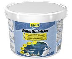 Tetra Pond WaterStabiliser (stabilisiert wichtige Wasserwerte, optimiert den KH- und pH-Wert im Gartenteich, beugt weichem Teichwasser vor), 12 kg Eimer mit Dosierschaufel