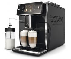 Philips Saeco Xelsis Espressomaschine Schwarz 1,6 l Vollautomatische Kaffeemaschine (Unabhängig, Espressomaschine, 1,6 l, Kaffeebohne, integrierte Mahlwerk, Schwarz)