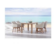 BEST 95150006 Tischgruppe 5-teilig Paterna und Moretti, 160 x 90 cm, mehrfarbig