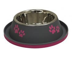 Croci Schale aus Edelstahl für Hunde und Kunststoff, 800 ml