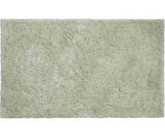 Grund organisch Garn Badteppich, 100% Bio-Baumwolle Garn, ultra soft, rutschfest, ÖKO-TEX-zertifiziert, 5 Jahre Garantie, CALO, Badematte 60x100 cm, jadegrün