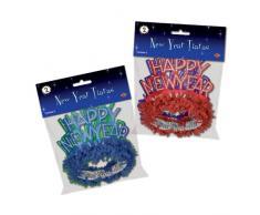 Beistle 88759 2er Pack Deko Happy New Year Regal Tiaras für Party