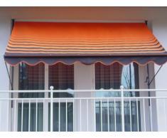 Angerer 2314/200 Klemmmarkise Dralon Nr. 200, Orange, 150 cm