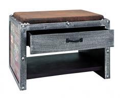 Haku-Möbel 30809 Bank, vintage, 38 x 58 x 42 cm