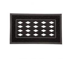 Evergreen Flagge 431000 A Fußmatte Tablett, schwarz